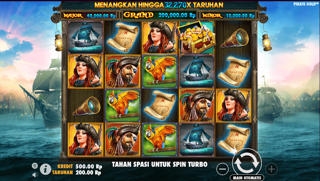Pirate gold pragmatic play indonesia