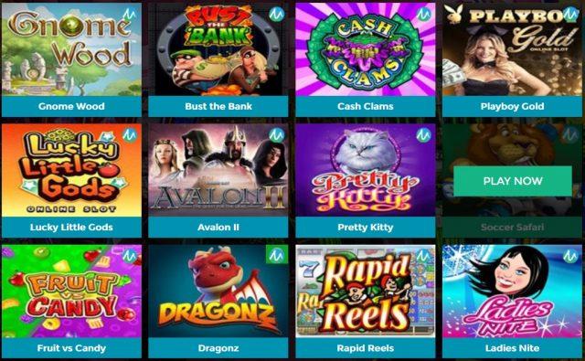 Permainan Microgaming Slot Online