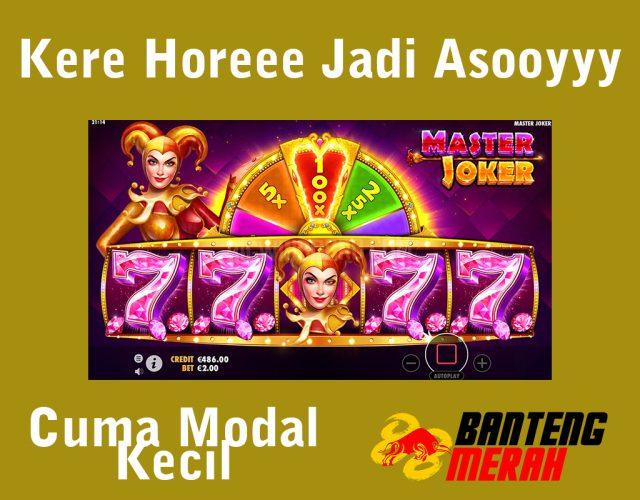 Master Joker Pragmatic Play Bantengmerah Slot Online Indonesia