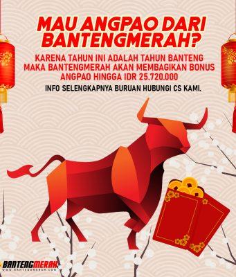 Bantengmerah Bonus Angpao Imlek 2021