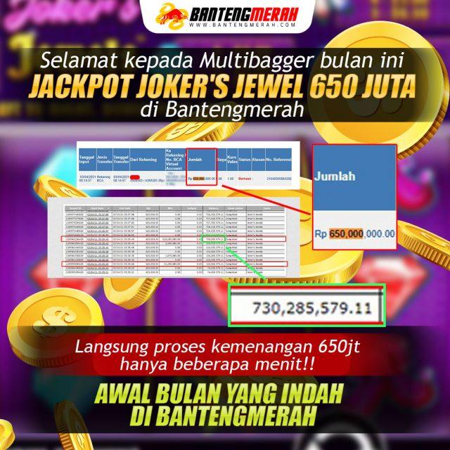 Testimoni jackpot jokers jewel