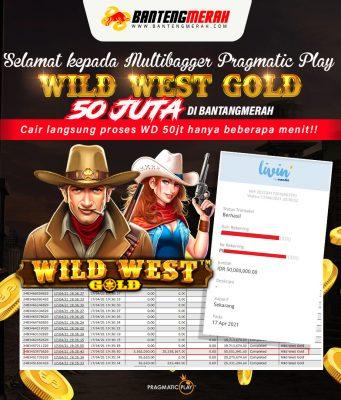 Jackpot 50 Juta di Wild West Gold Bantengmerah