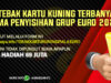 Event Tebak Kartu Kuning UEFA Euro 2020 Bantengmerah Banner