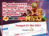 Jackpot 240 juta player Bantengmerah di The Hand of Midas Pragmatic Play Slot Online