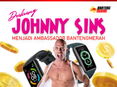 Dukung Johnny Sins jadi Brand Ambassador Bantengmerah !