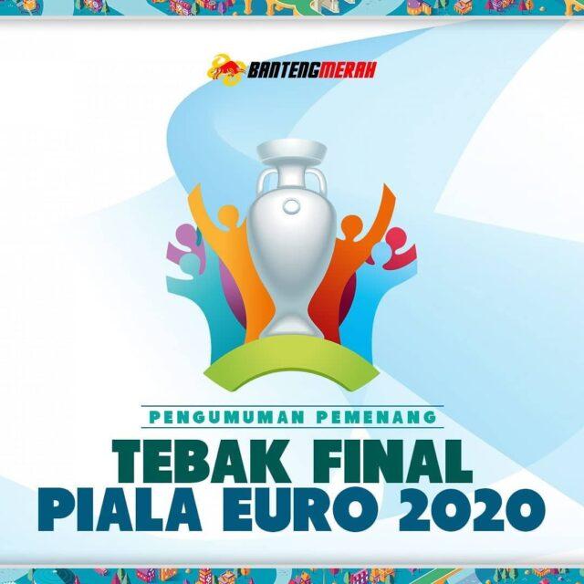 Hasil Pemenang Event Tebak Final UEFA Euro 2020 Bantengmerah