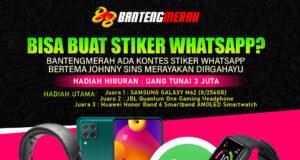 Event Kontes Stiker WhatsApp BANTENGMERAH