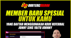 Promo Bantengmerah Referral Johnny Sins