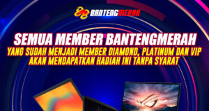 Event Level Diamond, Platinum, VIP Berhadiah Bantengmerah