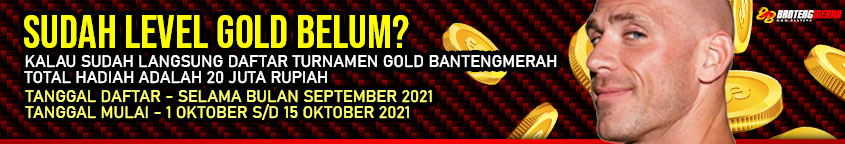 Event TURNAMEN KHUSUS MEMBER level GOLD BANTENGMERAH
